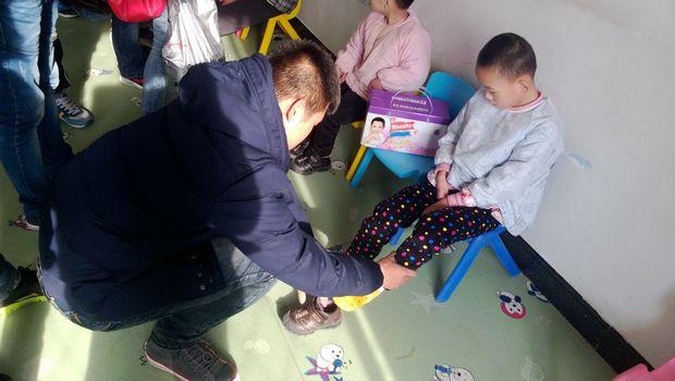电子工程系团组织到铁岭市福利院进行慰问活动