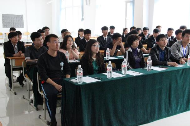 汽车系14级学生会干部换届选举