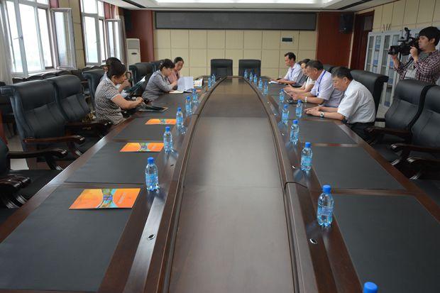 省总教科文卫体工会主席刘铭来我院视察