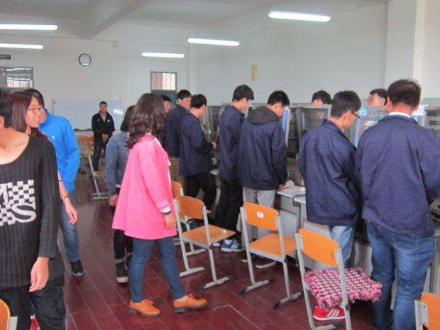 电气工程系开展实训室开放活动