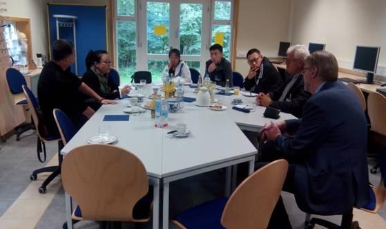 学院选派优秀教师队伍赴德国吉夫霍恩第二职业学校学习