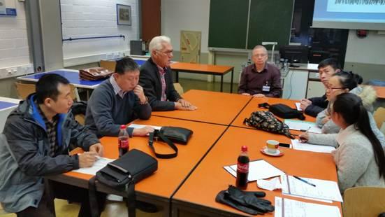 第四周―学院选派优秀教师队伍赴德国吉夫霍恩第二职业学校学习