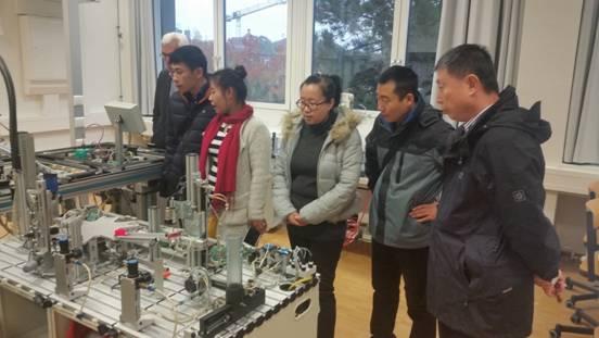 第五周―学院选派优秀教师队伍赴德国吉夫霍恩第二职业学校学习