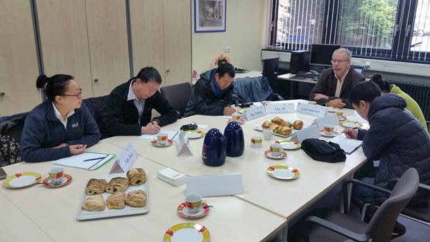 第七周―学院选派优秀教师队伍赴德国吉夫霍恩第二职业学校学习