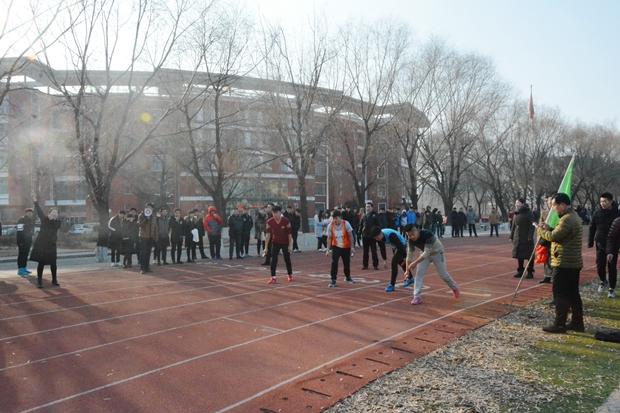 """学院举行纪念""""一二.九""""运动长跑活动"""