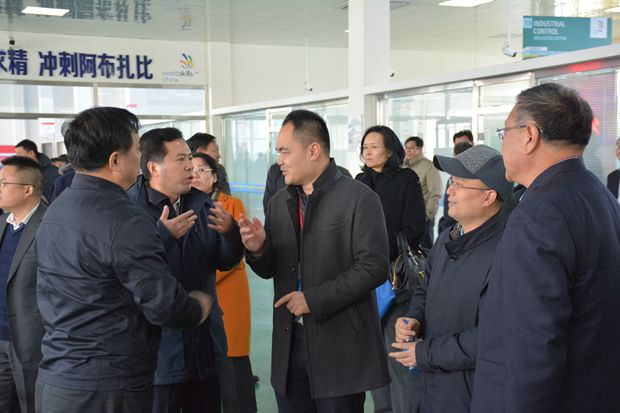 第44届世赛工控项目中国集训基地揭牌暨第二阶段集训启动仪式在我院举行