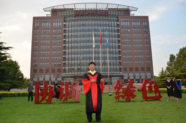 机械工程系优秀教师代表――田杨