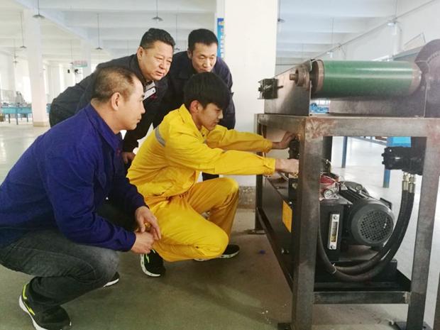 机械工程系优秀学生代表――张松仁